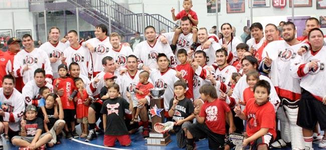 Onondaga Redhawks - 2013 Can-Am Lacrosse Champions