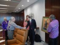 Oren Lyons, Ban Ki-Moon, 5-18-16